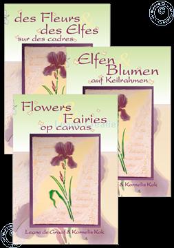 Afbeeldingen van Flowers & Fairies op canvas