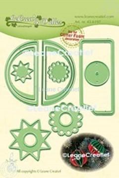 Image de Lea'bilitie® Glitter Foam décoration Boule bord lisse matrice pour découper