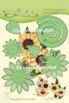 Image de Lea'bilitie® Multi die 019 Fleur de Soleil 3D  matrice pour découper & gaufrage