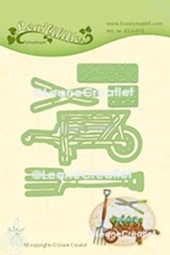 Bild von Lea'bilitie® Garten Set Schubkarre Präge- und Schneideschablone