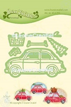 Picture of Lea'bilitie® Car Fiat 500 cut and embossing die