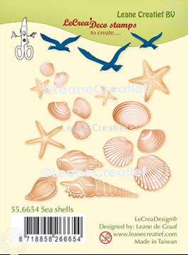 Picture of LeCreaDesign® deco clear stamp Sea shells