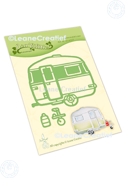 Afbeeldingen van Lea'bilitie® Caravan snij en embossing mal