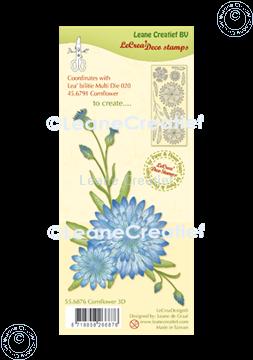 Picture of LeCreaDesign® deco clear stamp Cornflower 3D