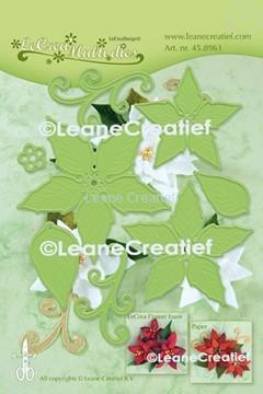 Afbeeldingen van Multi die flower 004 Poinsettia