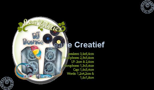 Image sur Lea'bilitie® Équipement audio de disque jockey matrice pour découper & gaufrage
