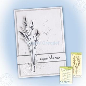 Bild von Waterside, reed stamp