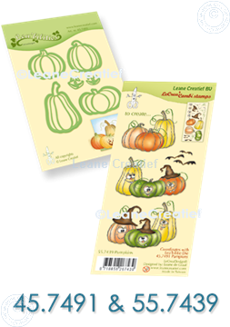 Image de Set Lea'bilitie & Clearstamp Pumpkins